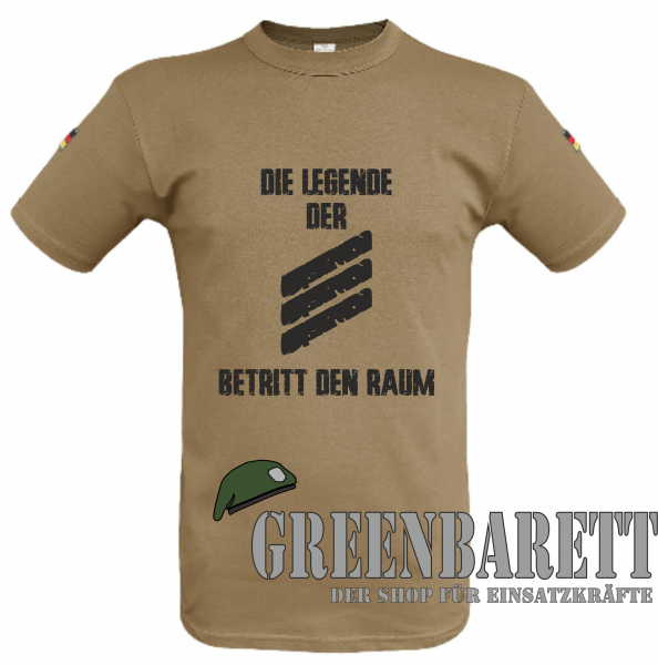 "Tropenshirt BW ""DIE LEGENDE"""