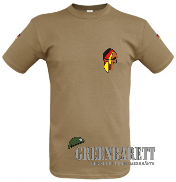 "Tropenshirt BW ""German Spartapunisher"""