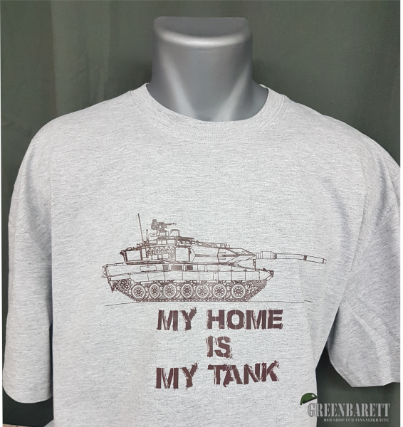 """T-Shirt """" My Home is my Tank"""""""
