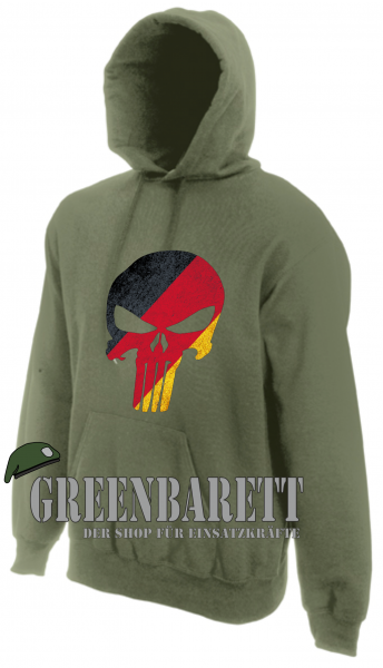 "Hoody ""German Punisher"""