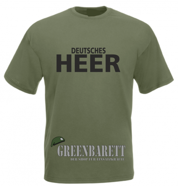 "T-Shirt ""Deutsches HEER"""
