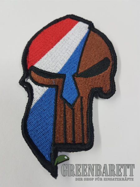 "Gestickter Patch ""Sparta-Punisher Netherland"""