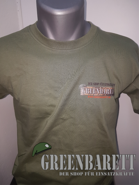 "T-Shirt ""Greenbarett"""